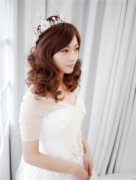 饅頭爸新秘團隊-珊婷 ❤ Yumi白紗造型