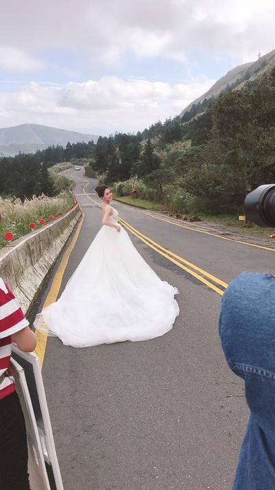 婚紗側拍就這麼美那成品怎麼辦