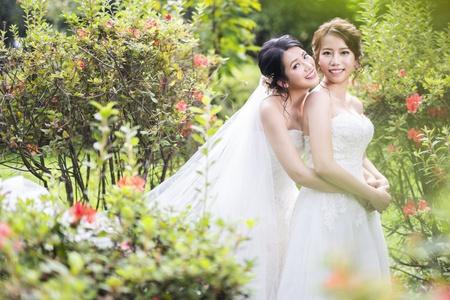 幸福感婚紗 新人女女婚紗 安琪&詠琳
