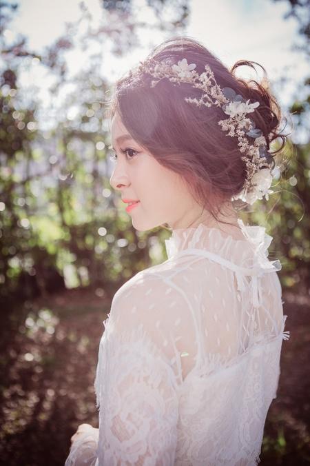 #台北新秘 #婚紗造型 #夢幻逆光
