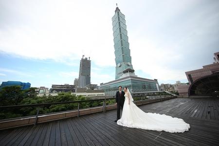 婚攝饅頭爸 | 台北君悅3F凱悅廳 | 醫生夫妻