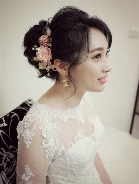 饅頭爸新秘團隊-珊婷 ❤ 力云結婚單妝