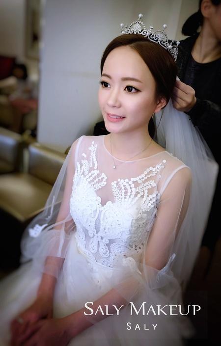 【Saly 造型總監】韓劇女神新娘