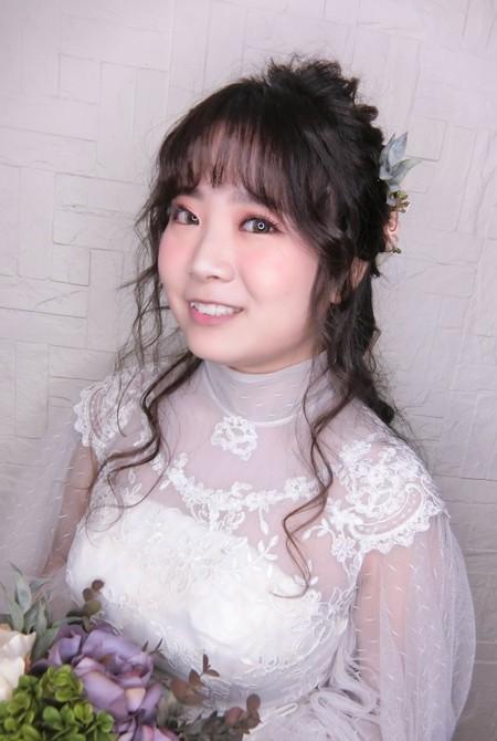 日系新娘髮型示範