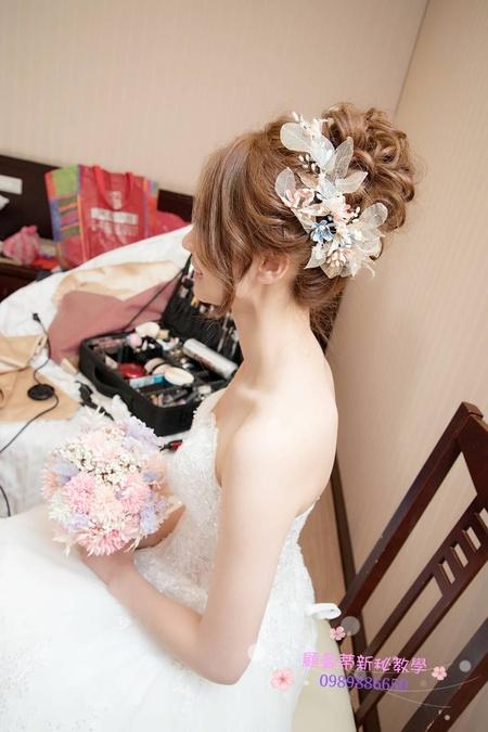 唯美乾燥花造型~森林系新娘