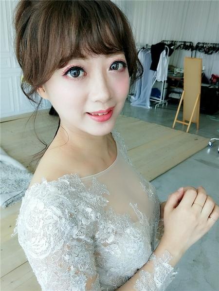 饅頭爸新秘團隊-珊婷 ❤ 婚紗外拍