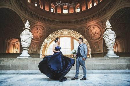 RenRen|魏沐 慕朵影像 舊金山婚紗|冉冉婚紗