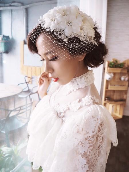 歐風復古新娘造型精選