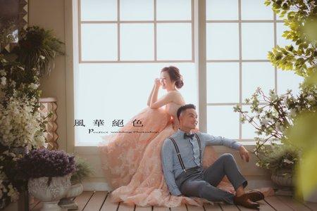 ❤️9月客照分享~風華絕色~/美式婚紗/婚紗基地/韓風/台北外拍景點推薦/婚紗攝影
