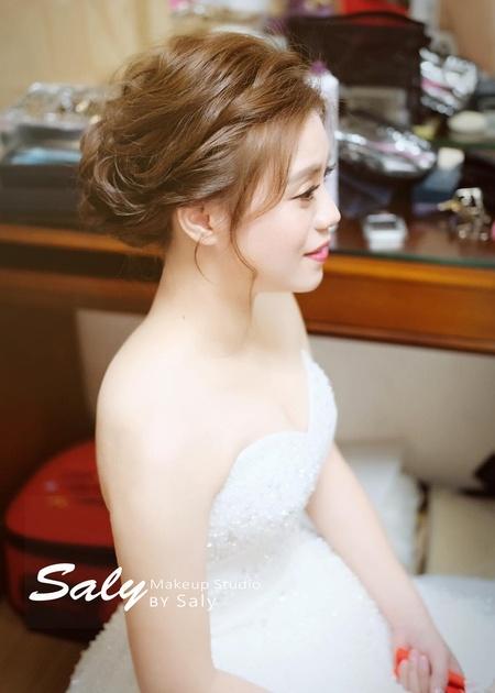 【Saly 造型總監】優雅新娘