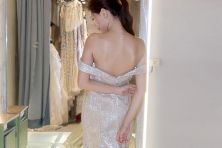 | Miss.E 婚紗推薦 • 執子花夢幻試衣間 |