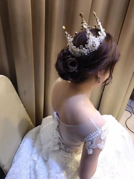 饅頭爸新秘團隊–娃娃❤昱 結婚儀式
