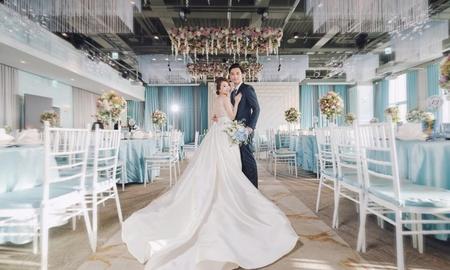 《台北婚攝》甜蜜時刻的幸福輕擁 / 民權晶宴16