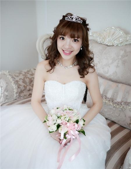 饅頭爸新秘團隊-珊婷 ❤ 瑞倩結婚
