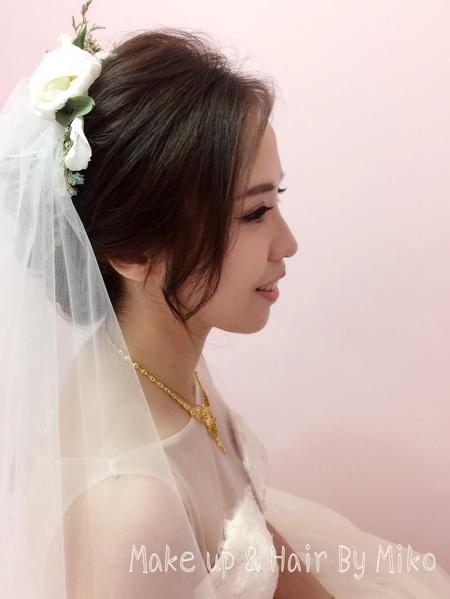 優雅婉約甜新娘