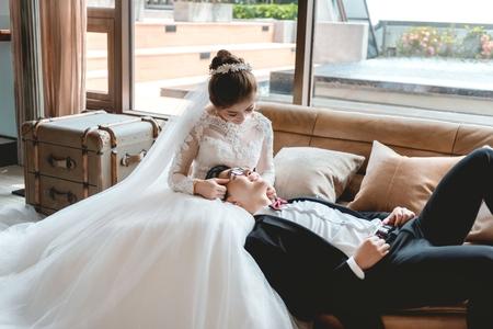 [婚攝] 福容飯店機捷A8 | 婚禮紀錄 | 鈺苓&郁翔 - 奔跑少年