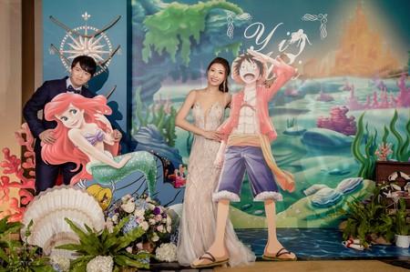 婚禮紀錄 l 新竹喜來登 l 小美人魚&航海王