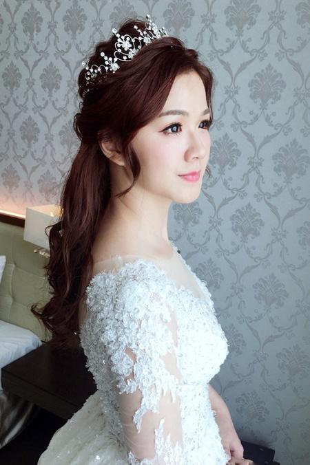 饅頭爸新秘團隊─小樺Vivi ❤ 飴軒結婚造型