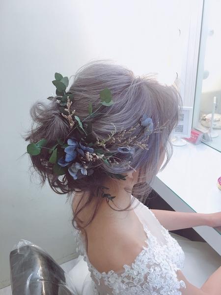 饅頭爸新秘團隊–芯媛❤短髮新娘造型