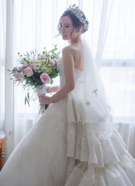 皇家貴族般的新娘造型(嘉義皇品國際飯店)