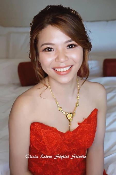 光澤感新娘