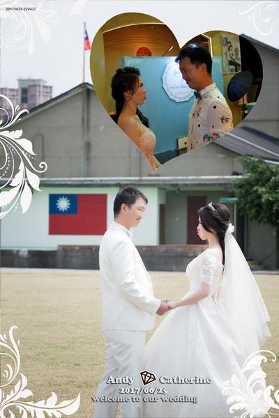 有一種婚禮感動  是因為有他們