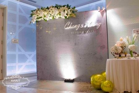 台中林酒店星光廳佈置