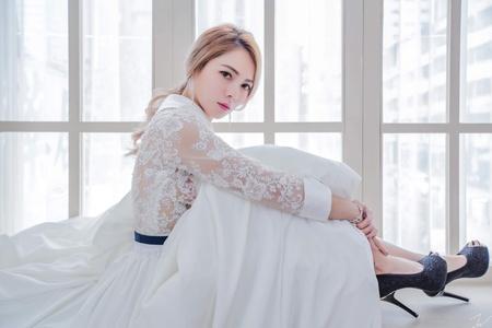 饅頭爸團隊-新秘宜佳Jia❤婚紗造型
