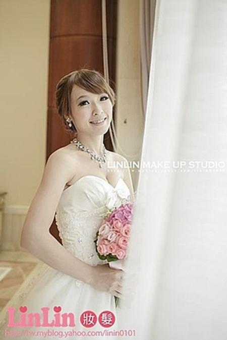 #台北化妝師#♥明明婚宴