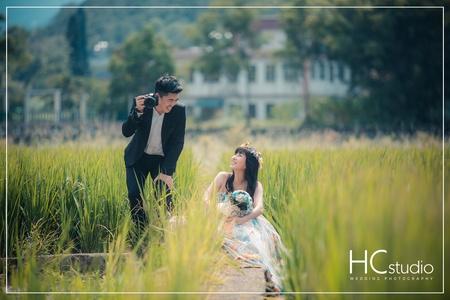 HC婚紗照 x 鄉間花園