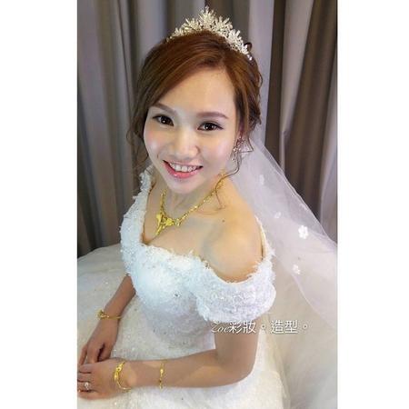 Zoe幸福新娘~芸(婚宴現場造型)