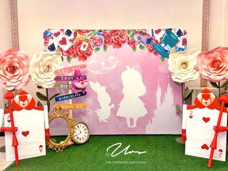 愛麗絲|主題婚禮佈置