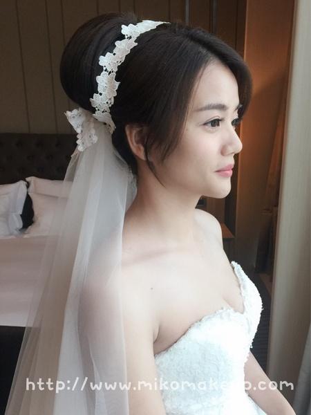 奧黛麗赫本優雅新娘