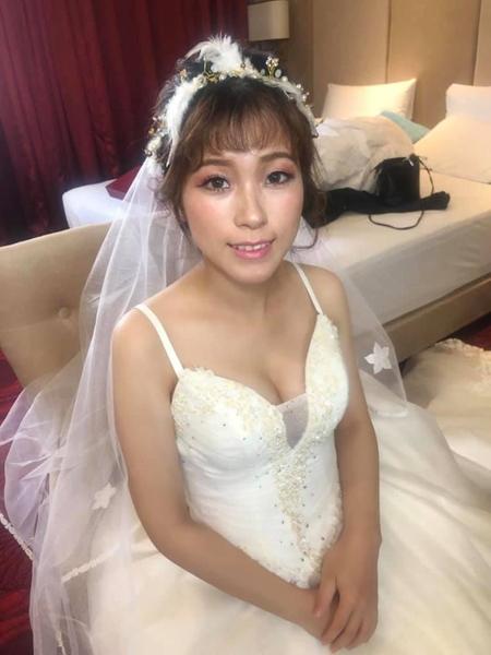 108/06/30小評結婚單妝