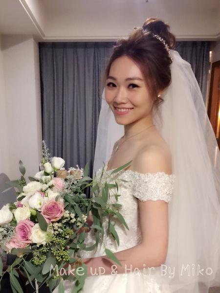 仙女般的甜新娘