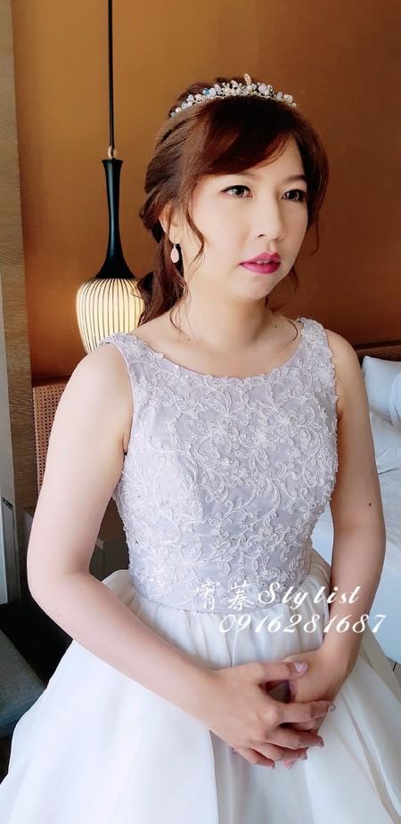 婚禮造型-甜美蝴蝶