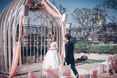 台中林酒店婚禮紀錄|闖關+證婚儀式。