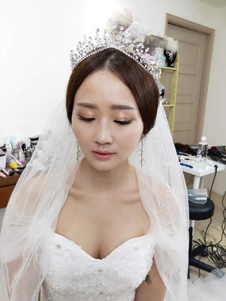 韓風女神光澤透亮妝髮