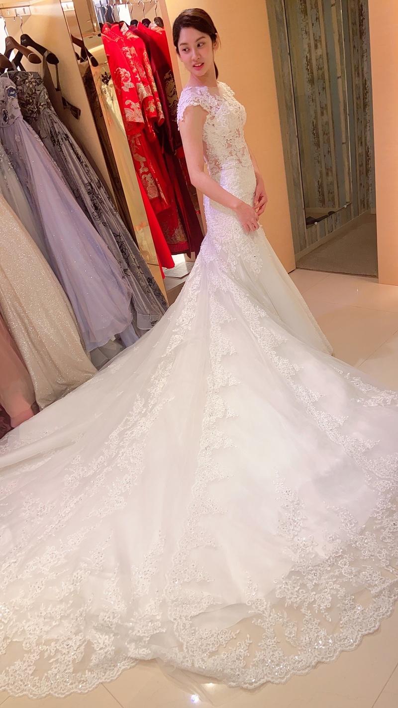 婚紗照風格 比堤婚紗 推薦新人:俊毅&美琇 挑選白紗