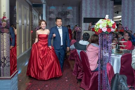 婚禮紀錄WEDDING | 南投-草屯花漾千禧婚宴會館-花樣廳  | 幸運草攝影工坊