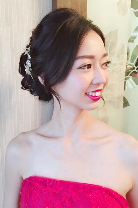 饅頭爸新秘團隊─小樺Vivi ❤ 芳廷訂結婚宴造型造型