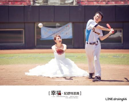【自助婚紗】- 野球魂~愛