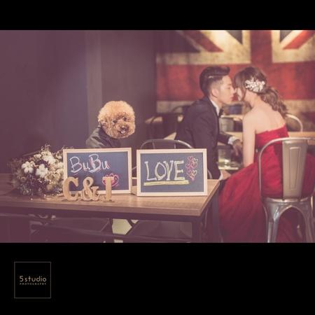 一文大學咖啡店婚紗攝影