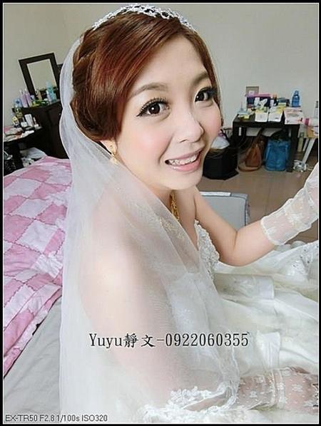 佳蓉結婚造型