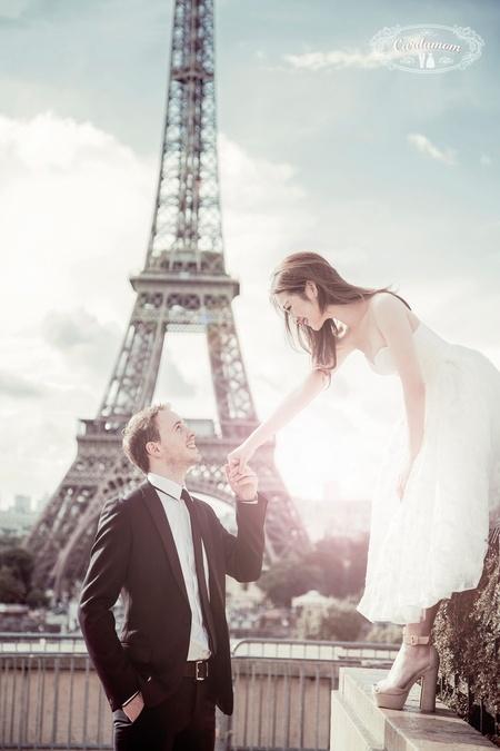 映象巴黎 浪漫花都婚紗錦集