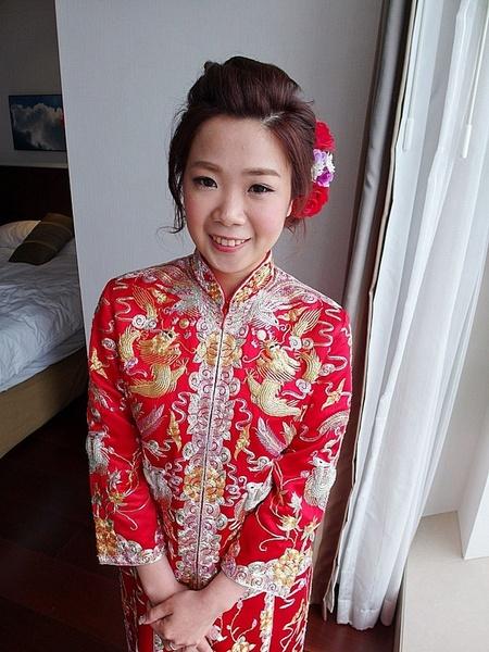 香港結婚儀式-素華 (裙掛)