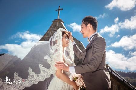 | 廢墟教堂 • 風格婚紗攝影 |