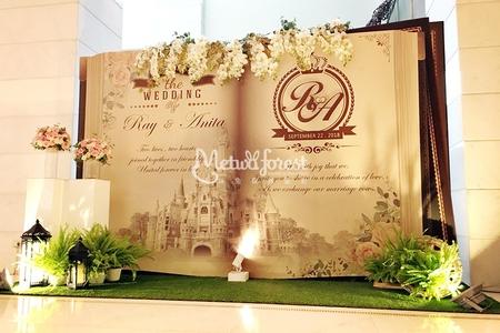 【婚禮佈置】維多麗亞酒店
