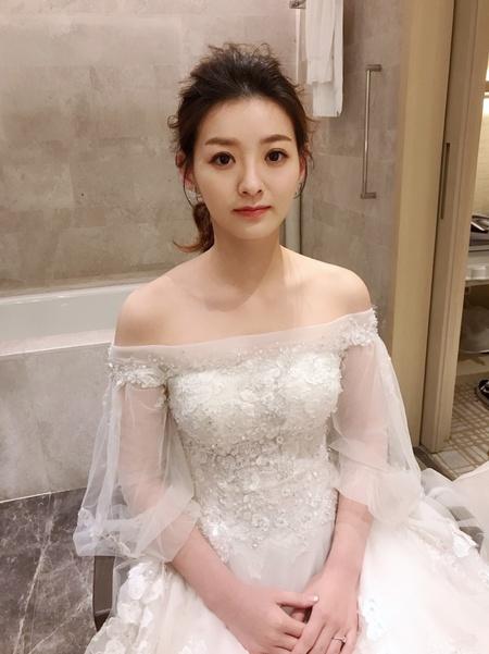 Jiayu結婚造型@萬豪