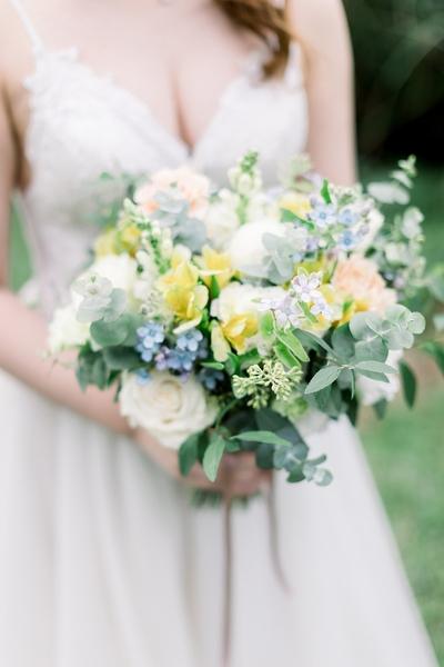 美式自然系捧花-Weekly Florist